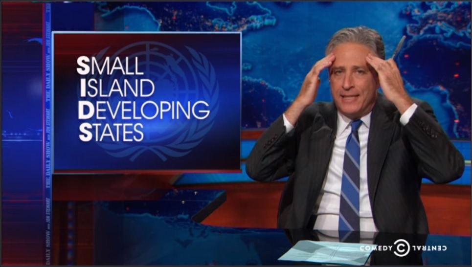 The Daily Show – SIDS at the UN Climate Summit