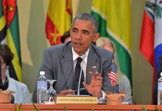 US President Barack Obama Urges Caribbean on Green Energy
