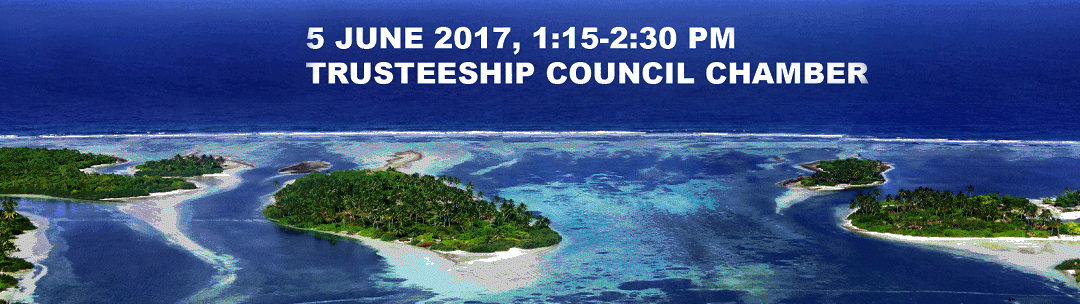 """Side Event: """"High-level dialogue on Oceans and Small Island States"""""""
