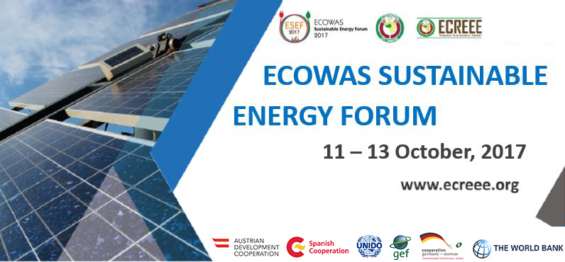 SAVE THE DATE: ECOWAS SUSTAINABLE ENERGY FORUM 2017