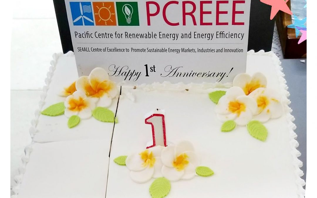 1st Year Anniversary of the Pacific Centre for Renewable Energy and Energy Efficiency (PCREEE)