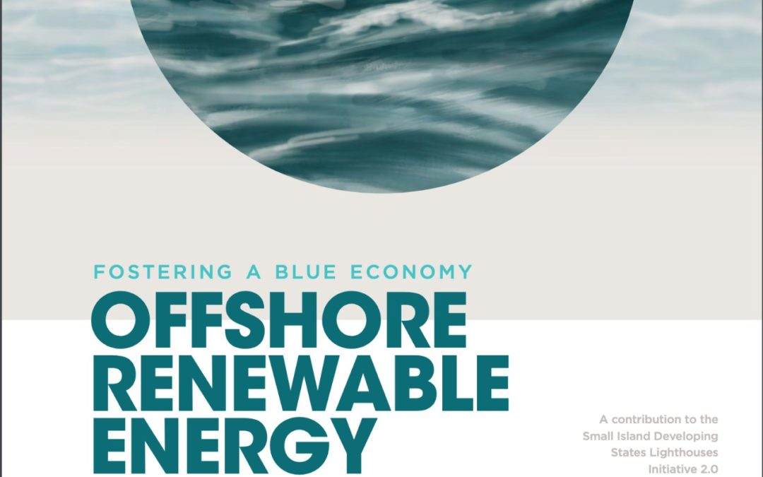 Fostering a blue economy: Offshore renewable energy